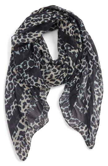 BP. Leopard Print Oblong Scarf
