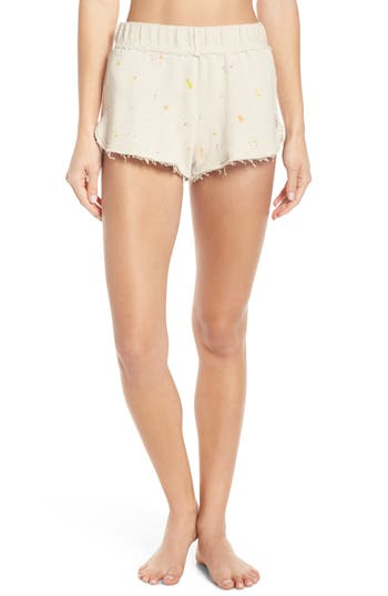 Free People Movement Fleece Star Shorts