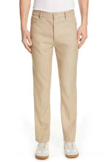 Maison Margiela Straight Leg Twill Pants