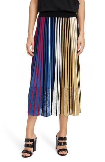 KENZO Pleated Rib Knit Skirt