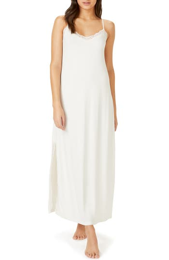 The White Company Lace Trim Nightgown