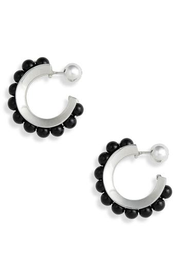 Sophie Buhai Onyx Hoop Earrings