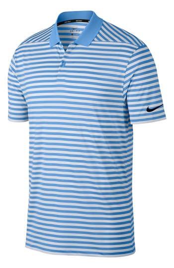 Nike Victory Stripe Dri-FIT Golf Polo