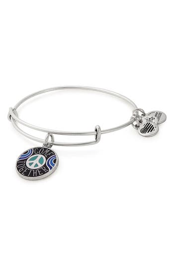 Alex and Ani Come Together Expandable Wire Bangle