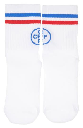 Off-White Medium Cross Off Socks