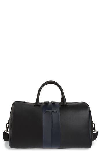Ted Baker London Faux Leather Duffel Bag