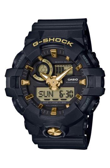 G-Shock Baby-G Ana-Digi Resin Watch, 53mm