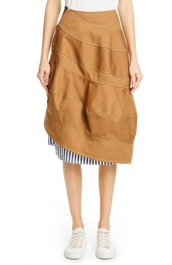 Tricot Comme des Garçons Stripe Combo Skirt