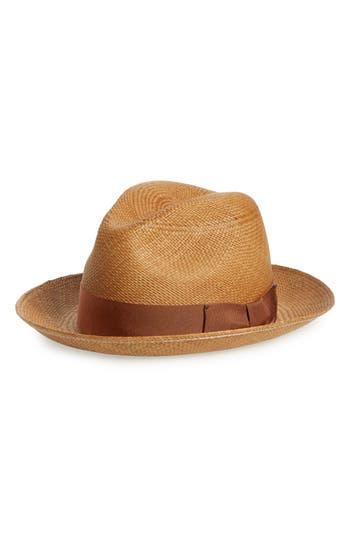 Bailey Thurman Straw Panama Hat