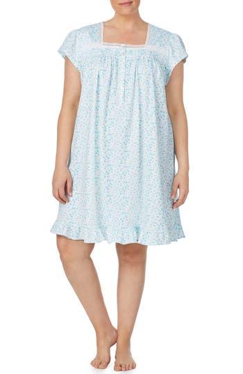 Eileen West Short Jersey Nightgown