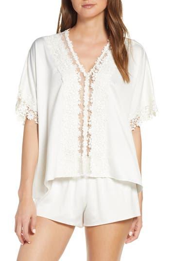 Flora Nikrooz Showstopper Satin Short Pajamas