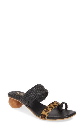 42 GOLD Naya Genuine Calf Hair Sandal (Women)