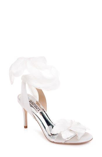 Badgley Mischka Almira Ankle Tie Sandal (Women)