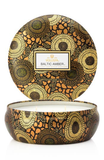 Voluspa Japonica Baltic Amber Three-Wick Candle