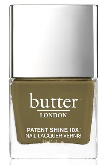 Butter London 'Patent Shine 10X' Nail Lacquer - British Khaki