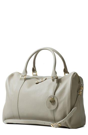 Infant Pacapod Firenze Leather Diaper Bag