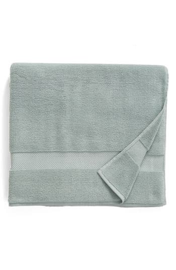 Nordstrom At Home Hydrocotton Bath Sheet, Size One Size - Blue/green