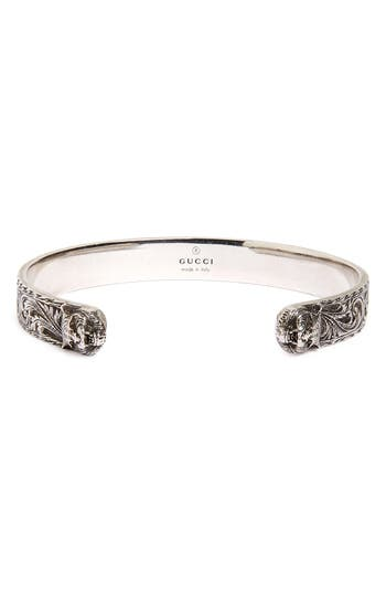 Gucci Feline Head Cuff Bracelet