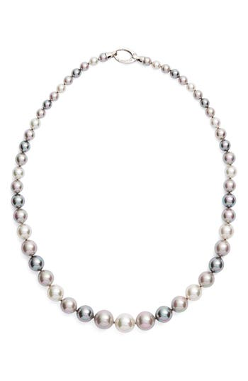 Women's Majorica Graduated Round Simulated Pearl Necklace