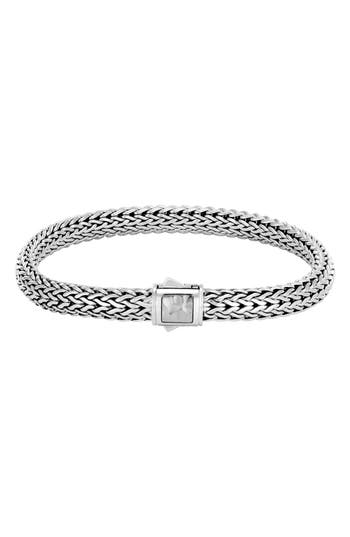 Women's John Hardy 6.5Mm Hammered Clasp Bracelet