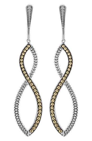 Women's Lagos Infinity Twist Drop Earrings