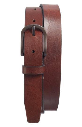 BOSCA | Men's Bosca Heavyweight Leather Belt, | Goxip