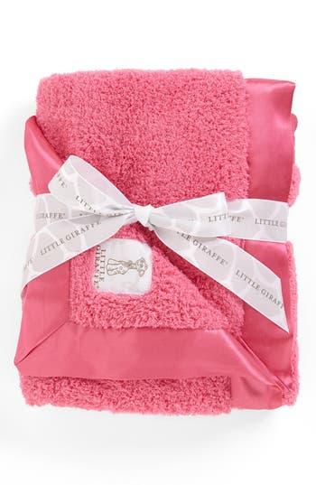 Little Giraffe Chenille Blanket, Size One Size - Pink