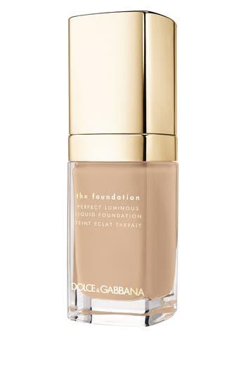 Dolce&gabbana Beauty Perfect Luminous Liquid Foundation - Warm Rose 130