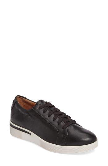 Gentle Souls Haddie Low Platform Sneaker, Black