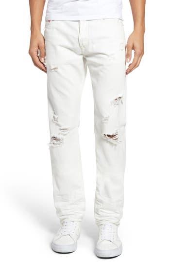 Diesel Buster Slim Straight Leg Jeans
