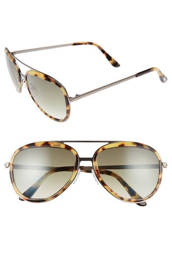 Tom Ford Andy 5m Aviator Sunglasses -