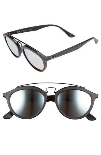 Ray-Ban Icons 5m Retro Sunglasses - Matte Black