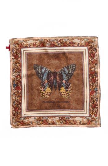 Women's Valentino Cigar Boxes Silk Square Scarf