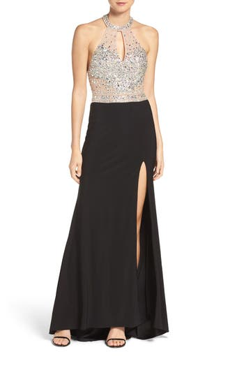 Xscape Halter Gown