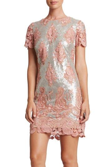 Women's Dress The Population Joy Sequin Lace Minidress