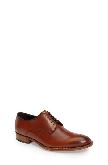 To Boot New York Hank Plain Toe Derby, Brown