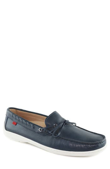 Marc Joseph New York Hudson Boat Shoe, Blue