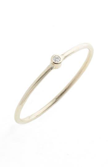 Women's Zoë Chicco Diamond Bezel Ring