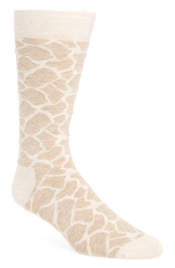 Men's Happy Socks Giraffe Print Socks