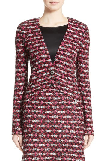 Women's St. John Collection Hiran Tweed Knit Jacket