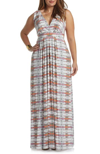 Plus Size Women's Tart Chloe Empire Waist Maxi Dress