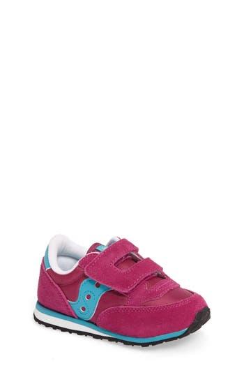 Infant Saucony Jazz Sneaker Size 4 M  Pink