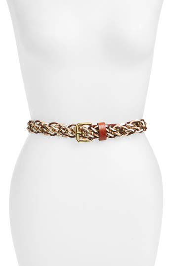Women's Rebecca Minkoff Leather & Chain Belt at NORDSTROM.com