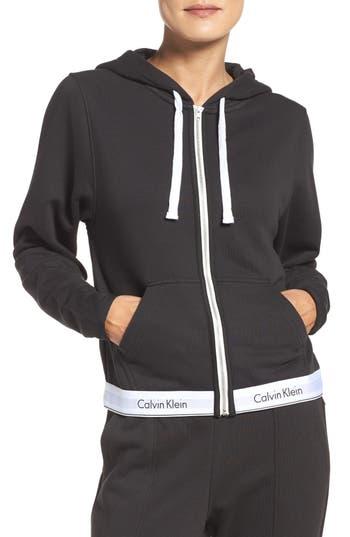 Calvin Klein Lounge Hoodie, Black