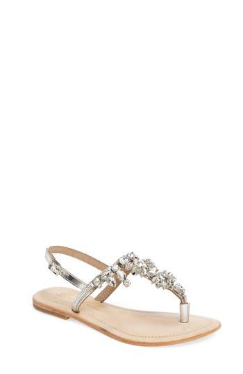Women's Lauren Lorraine Bermuda Embellished Sandal