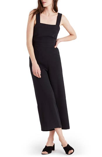 Women's Madewell Apron Bow Back Jumpsuit
