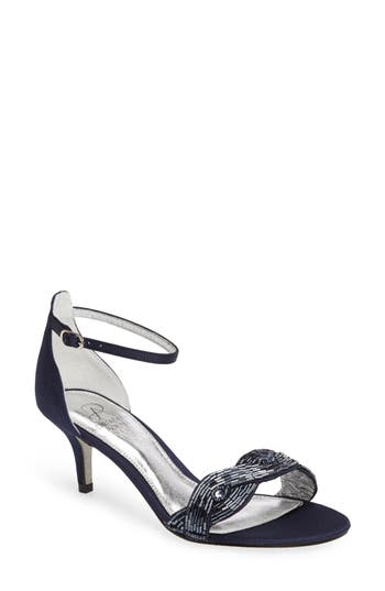 Adrianna Papell Aerin Embellished Sandal, Blue