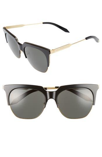 Victoria Beckham Layered Combination 57Mm Square Sunglasses -