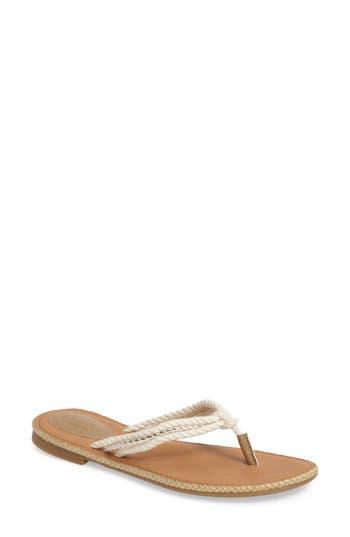 Sperry Anchor Coy Sandal- Ivory