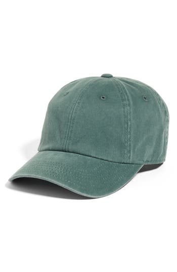 AMERICAN NEEDLE | Women's American Needle Washed Baseball Cap - Green | Goxip